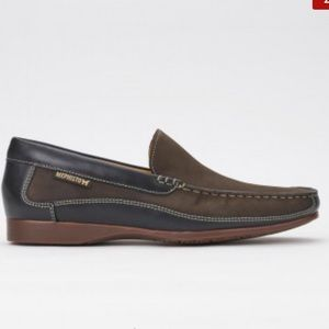 Mephisto Baduard men's brown leather loafer shoes